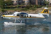 C-FJHA @ CYWH - Harbour Air Dash 3