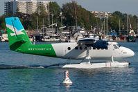 C-FMHR @ CYWH - Westcoast Air Dash 6