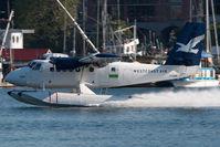 C-GJAW @ CYWH - Westcoast Air Dash 6