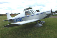 G-BNML @ EGBG - Rand KR-2 at Leicester on 2009 Homebuild Fly-In day