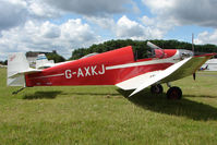 G-AXKJ @ EGBG - Jodel D9 at Leicester on 2009 Homebuild Fly-In day - by Terry Fletcher