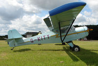 G-KITY @ EGBG - Denney Kitfox at Leicester on 2009 Homebuild Fly-In day