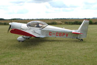 G-CBPV @ EGBG - Zenair 601UL at Leicester on 2009 Homebuild Fly-In day