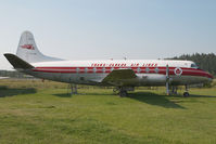 CF-THG @ CYYJ - Trans Canada Airlines Vickers Viscount
