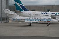 C-GWPB @ CYVR - Falcon 20