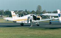 D-EFPD @ EDKB - Piper PA-28-180 Challenger at Bonn-Hangelar airfield - by Ingo Warnecke