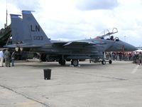 98-0133 @ LFPB - McDonnell Douglas F-15E Strike Eagle 98-0133/LN US Air Force - by Alex Smit