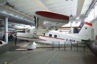 D-IBSW - Dornier Do 28D-1 Skyservant operated by TU Braunschweig (Brunswick Technical University) as research aircraft until 1993, now at the Museum für Luftfahrt und Technik at Wernigerode