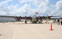 N224J @ KDPA - Collings Foundation, Consolidated B-24J Liberator 252534 at Community Days KDPA - by Mark Kalfas
