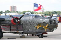N224J @ KDPA - Collings Foundation, Consolidated B-24J Liberator 252534 at Community Days KDPA - by Mark Kalfas