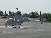 N108DJ @ EMT - All covered up and parked at El Monte - by Helicopterfriend