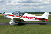 G-BVST @ EGBG - Jodel D150 at Leicester on 2009 Homebuild Fly-In day