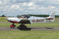 G-BYJT @ EGBG - Zenair 601 at Leicester on 2009 Homebuild Fly-In day - by Terry Fletcher