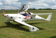 G-CUIK @ EGBG - Quickie Q200 at Leicester on 2009 Homebuild Fly-In day