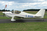 G-BVOS @ EGBG - Europa at Leicester on 2009 Homebuild Fly-In day