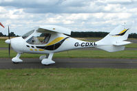 G-CDXL @ EGBG - Flight Design CTSW at Leicester on 2009 Homebuild Fly-In day