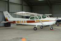 G-OERS @ EGBG - Cessna 172N at Leicester on 2009 Homebuild Fly-In day