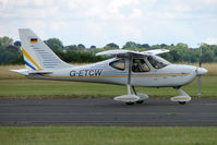 G-ETCW @ EGBG - Glastar at Leicester on 2009 Homebuild Fly-In day