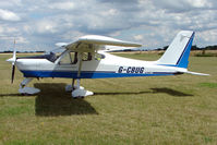 G-CBUG @ EGBG - Tecnam Echo at Leicester on 2009 Homebuild Fly-In day