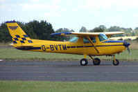 G-BVTM @ EGBG - Cessna F152 at Leicester on 2009 Homebuild Fly-In day