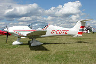 G-CUTE @ EGBG - MCR-01 at Leicester on 2009 Homebuild Fly-In day