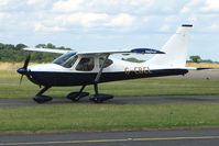 G-CBCL @ EGBG - Glastar at Leicester on 2009 Homebuild Fly-In day