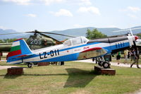 LZ-011 @ LBPG - Bulgarian Museum of Aviation, Plovdiv-Krumovo (LBPG). - by Attila Groszvald-Groszi