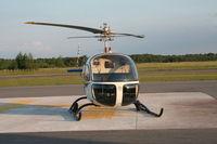 CF-TOI @ CNV8 - Bell 47H-1 CF-TOI - by Dave Beverstein