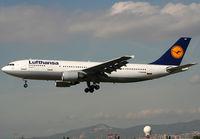 D-AIAM @ LEBL - Landing rwy 25L... My last LH A300-600 :| - by Shunn311