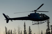C-GIUX @ HAY RIVER - Great Slave Helicopters AS350 - by Dietmar Schreiber - VAP