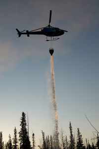 C-GIUX @ HAY RIVER - Great Slave Helicopters AS350