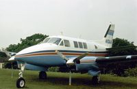 N10WA @ RDG - This Beech Queen Air was present at the 1977 Reading Airshow. - by Peter Nicholson