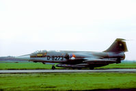 D-8273 @ EHVK - Dutch recce Starfighter with the distinct Orpheus recce pod. - by Joop de Groot