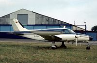 D-IFHS @ SEN - This Cessna 411 was seen at Southend in the Summer of 1976. - by Peter Nicholson