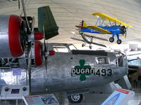 44-51228 @ EGSU - Consolidated B-24M Liberator 44-51228/493/EC US Air Force in the American Air Museum - by Alex Smit