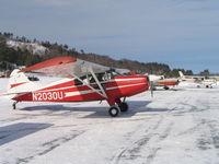 N2030U @ B18 - Maule M4-220C on ice in Alton Bay, NH  Jan 2005 - by MELVILLE