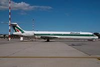 I-DATL @ MXP - Alitalia MD80
