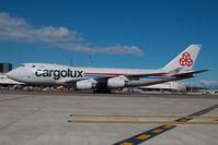 LX-OCV @ MXP - Cargolux Boeing 747-400