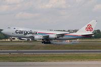 LX-LCV @ MXP - Cargolux Boeing 747-400