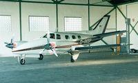 D-INSP @ EDKB - Beechcraft B60 Duke at Bonn-Hangelar airfield - by Ingo Warnecke