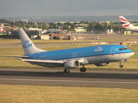 PH-BPC @ EGLL - KLM about to touch down - by Robert Kearney