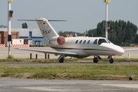 D-ILAT @ EBBR - parked on General Aviation apron (Abelag) - by Daniel Vanderauwera