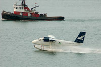 C-GJAW - landing at Coal Harbour,Vancouver BC - by metricbolt