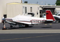 N252WT @ RHV - Mooney Aircraft Corp. M20K with cover @ Reid-Hillview (San Jose), CA - by Steve Nation