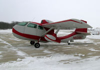 N6019K @ CCY - on the ramp at Charles City, IA on a very cold and windy day in Dec. - by BTBFlyboy