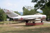 22 @ LBPG - Bulgarian Museum of Aviation, Plovdiv-Krumovo (LBPG). - by Attila Groszvald-Groszi