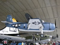 46214 @ EGSU - Grumman TBM-3E Avenger 46214/X-3 US Navy in the American Air Museum - by Alex Smit