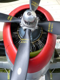 42-26413 @ EGSU - Republic P-47D Thunderbolt 42-26413/Z-UN US Air Force in the American Air Museum - by Alex Smit