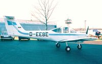 D-EEBE @ EDKB - Piper PA-38-112 Tomahawk at Bonn-Hangelar airfield - by Ingo Warnecke