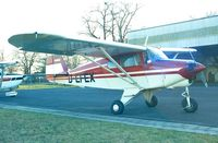 D-EFEX @ EDKB - Piper PA-22-150 Tri-Pacer at Bonn-Hangelar airfield - by Ingo Warnecke